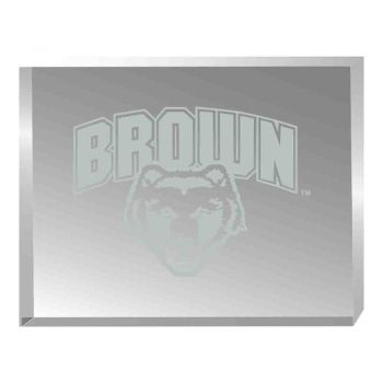 Brown University-Acrylic Award Desk Piece-Paperweight