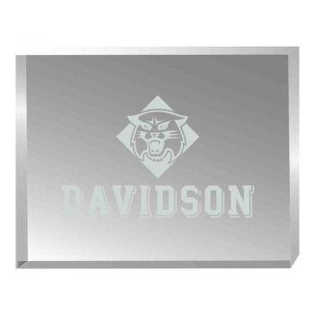 Davidson College-Acrylic Award Desk Piece-Paperweight