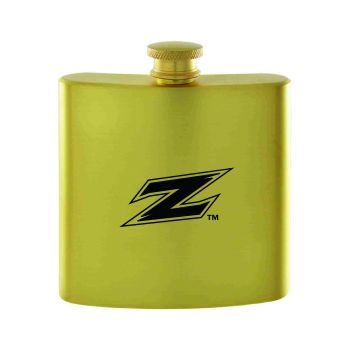 Univeristy of Akron-Contemporary Metals Flask-Gold