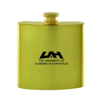 University of Alabama in Huntsville -Contemporary Metals Flask-Gold