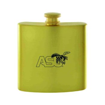 Alabama State University-Contemporary Metals Flask-Gold