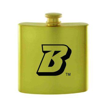 Binghamton University-Contemporary Metals Flask-Gold