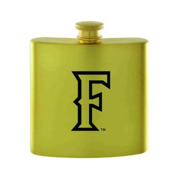California State Univeristy Fullerton -Contemporary Metals Flask-Gold