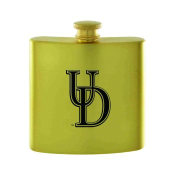 University of Delaware-Contemporary Metals Flask-Gold