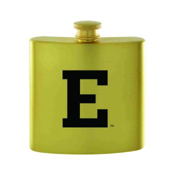 Eastern Michigan University-Contemporary Metals Flask-Gold