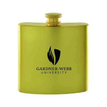 Gardner-Webb University-Contemporary Metals Flask-Gold