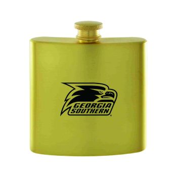 Georgia Southern University-Contemporary Metals Flask-Gold