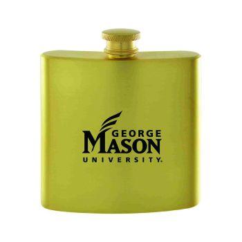 George Mason University -Contemporary Metals Flask-Gold