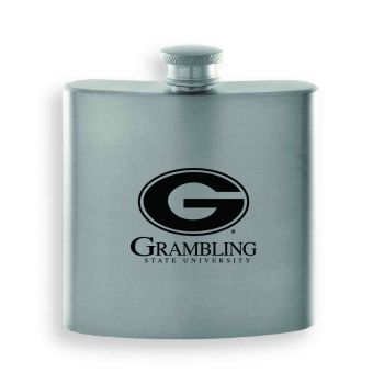 Grambling State University-Contemporary Metals Flask-Gold