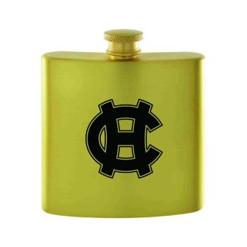 College of the Holy Cross-Contemporary Metals Flask-Gold