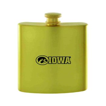 University of Iowa-Contemporary Metals Flask-Gold