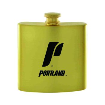 The University of Portland-Contemporary Metals Flask-Gold