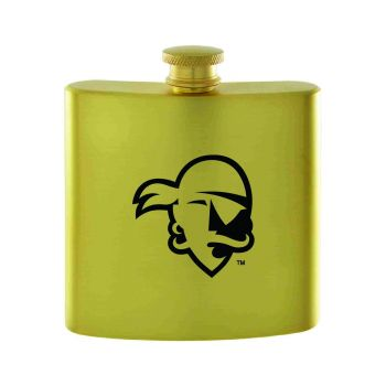 Seton Hall University-Contemporary Metals Flask-Gold
