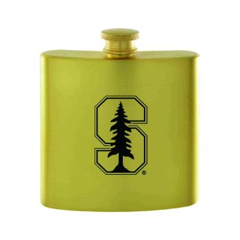 Stanford University-Contemporary Metals Flask-Gold