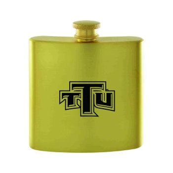 Tennessee Technological University-Contemporary Metals Flask-Gold