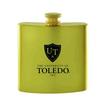 University of Toledo-Contemporary Metals Flask-Gold