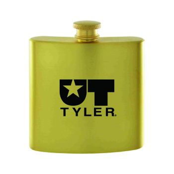 University of Texas at Tyler-Contemporary Metals Flask-Gold