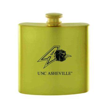 University of North Carolina at Asheville-Contemporary Metals Flask-Gold