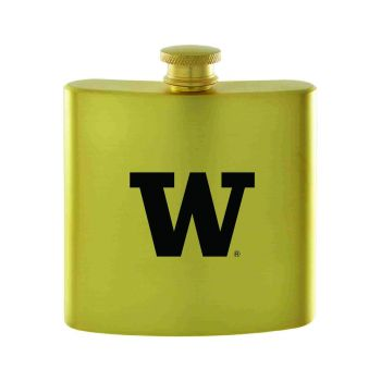 University of Washington-Contemporary Metals Flask-Gold