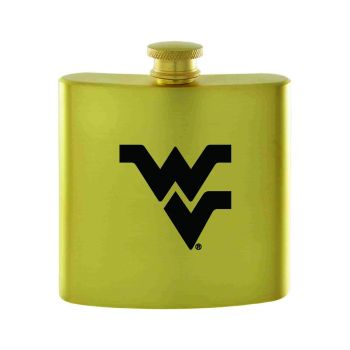 West Virginia University-Contemporary Metals Flask-Gold