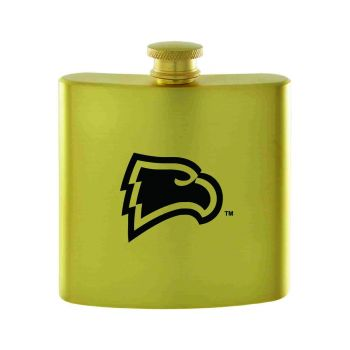 Winthrop University-Contemporary Metals Flask-Gold