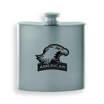 American University-Contemporary Metals Flask-Silver