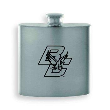 Boston College-Contemporary Metals Flask-Silver