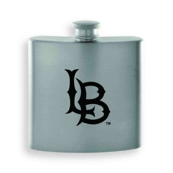 Long Beach State University-Contemporary Metals Flask-Silver