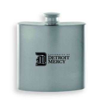 University of Detroit Mercy-Contemporary Metals Flask-Silver