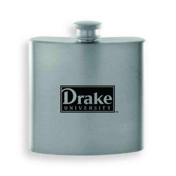 Drake University-Contemporary Metals Flask-Silver