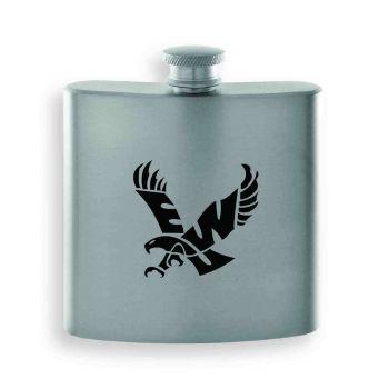 Eastern Washington University-Contemporary Metals Flask-Silver