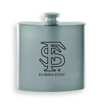 Florida State University-Contemporary Metals Flask-Silver