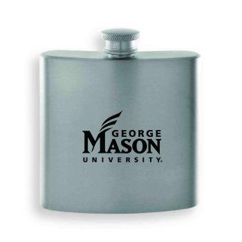 George Mason University -Contemporary Metals Flask-Silver