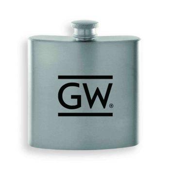 George Washington University -Contemporary Metals Flask-Silver