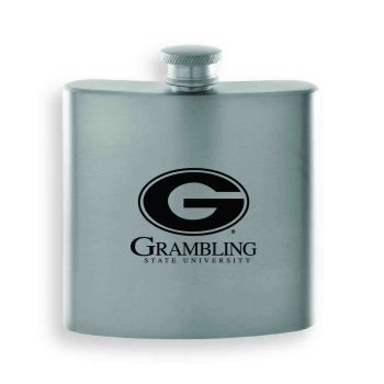 Grambling State University-Contemporary Metals Flask-Silver