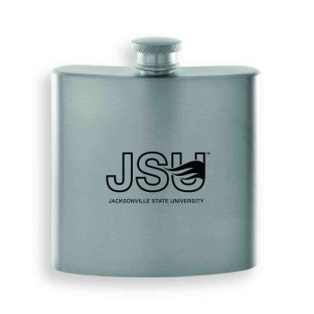 Jackson State University-Contemporary Metals Flask-Silver