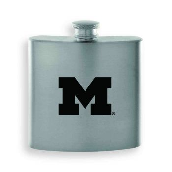 University of Michigan-Contemporary Metals Flask-Silver