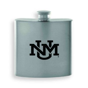 The University of New Mexico-Contemporary Metals Flask-Silver