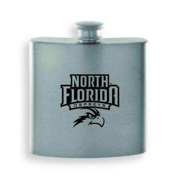 University of North Florida-Contemporary Metals Flask-Silver