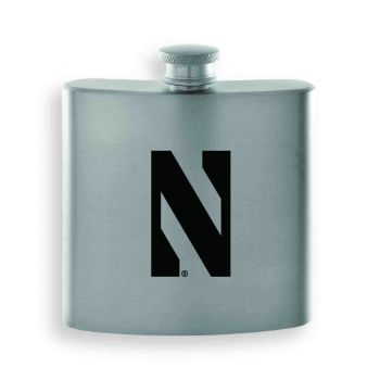 Northwestern University-Contemporary Metals Flask-Silver