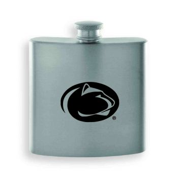 The Pennsylvania State University -Contemporary Metals Flask-Silver