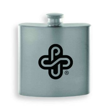 Portland State University-Contemporary Metals Flask-Silver
