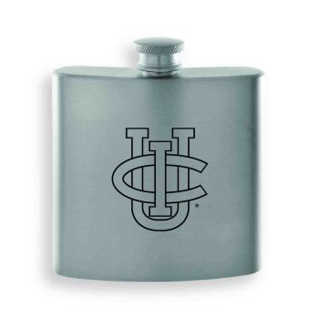 University of California, Irvine-Contemporary Metals Flask-Silver
