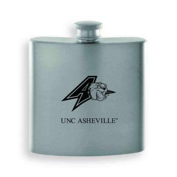 University of North Carolina at Asheville-Contemporary Metals Flask-Silver