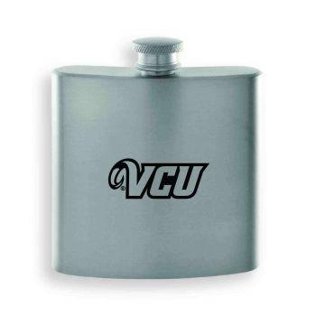 Virginia Commonwealth University-Contemporary Metals Flask-Silver