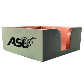 Alabama State University-Concrete Note Pad Holder-Grey