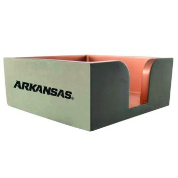 University of Arkansas at Pine Buff-Concrete Note Pad Holder-Grey