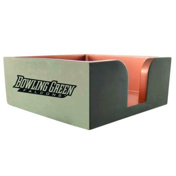 Bowling Green State University-Concrete Note Pad Holder-Grey
