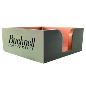Bucknell University-Concrete Note Pad Holder-Grey