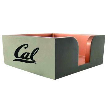 University of California Berkeley -Concrete Note Pad Holder-Grey